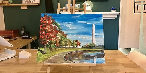 THINGS TO DO -PAINT & SIP EVENT: MEMORIAL MONUMENT