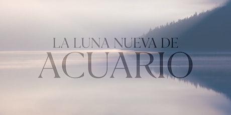 LUNUEACUT20 | Luna Nueva de Acuario | 26 de enero 19:00 | Tecamachalco  entradas