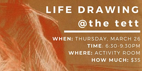 LIFE DRAWING with Tim Rosillo tickets