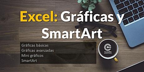 Excel - Gráficas y SmartArt boletos