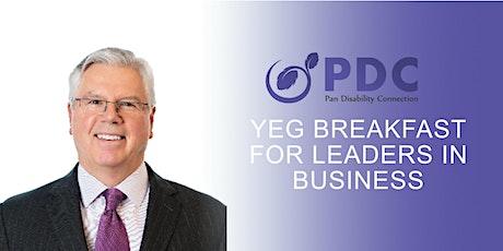 YEG Breakfast for Leaders in Business  tickets