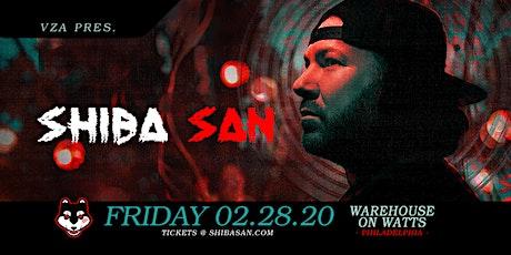 Shiba San at Warehouse on Watts - Philadelphia tickets