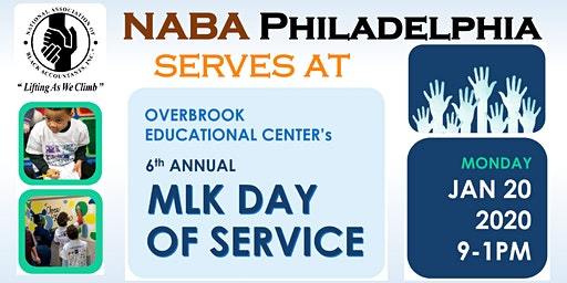 NABA Philly serves at OEC's 6th Annual MLK Day of Service