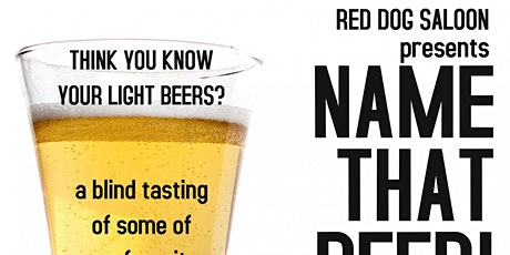 Name that BEER! tickets