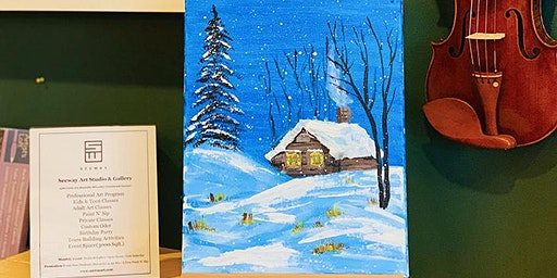 THINGS TO DO -PAINT & SIP: SNOW
