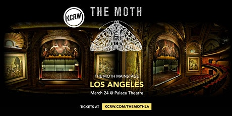 KCRW Presents The Moth Mainstage in LA tickets