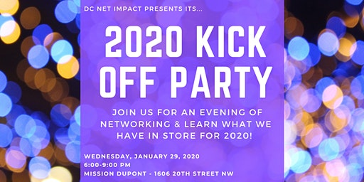 2020 Kick Off Party!