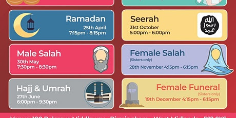 Male Salah tickets