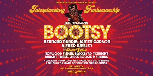 FUNK LEGENDS ft. Bootsy Collins, Bernard Purdie, James Gadson, Fred Wesley