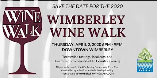 Wimberley Wine Walk 2020
