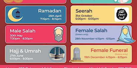 Female Salah (Sisters Only) tickets