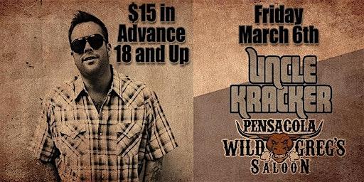 Uncle Kracker Live at Wild Greg's Saloon Pensacola
