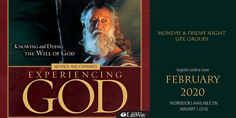 Experiencing God tickets