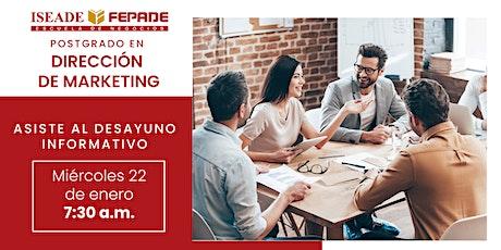 Desayuno Informativo: Postgrado en Dirección de Marketing entradas