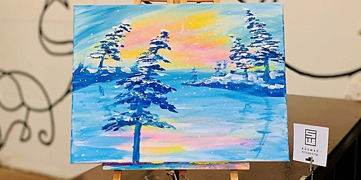 THINGS TO DO -PAINT & SIP EVENT: MORNING GLOW