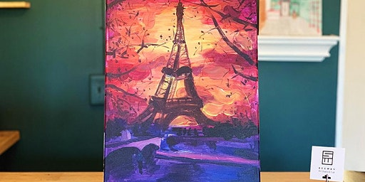 THINGS TO DO -PAINT & SIP EVENT: EIFEL TOWER
