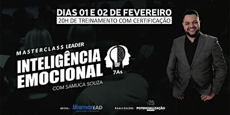 MASTERCLASS LEADER - Inteligência Emocional 7As ingressos