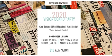 Social Our  Vision Board Party tickets