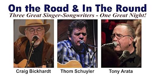 Craig Bickhardt, Thom Schuyler and Tony Arata in Concert