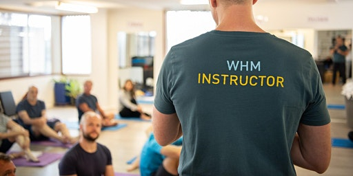 Wim Hof Method- Advanced  workshop Beginner and Advanced we go together.