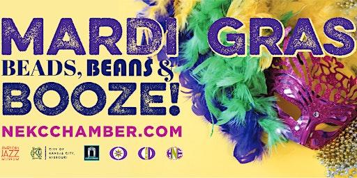 MARDI GRAS: BEADS, BEANS & BOOZE!