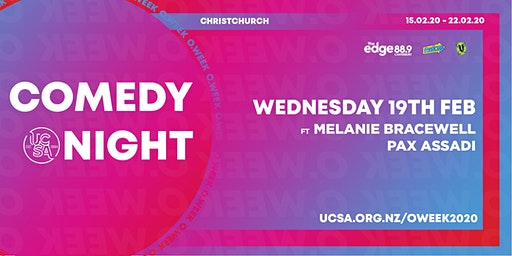 UCSA O.Week 2020 | Comedy Night (R17)
