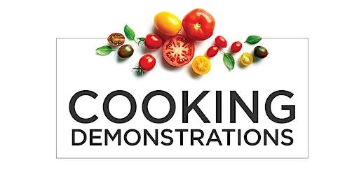 Gaggenau Cooking Demo