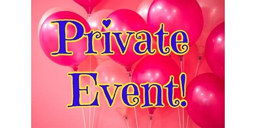 PRIVATE EVENT! Epic Training Team (01-27-2020 starts at 4:30 PM)