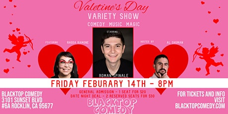 Valentine's Day Comedy, Magic, and Music Variety Show! tickets