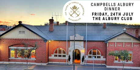 Campbells Albury Dinner tickets