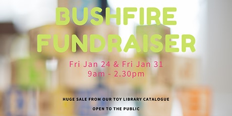 Toy Sale Bushfire Fundraiser tickets