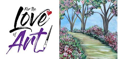 Paint and Sip Class: Garden Path tickets