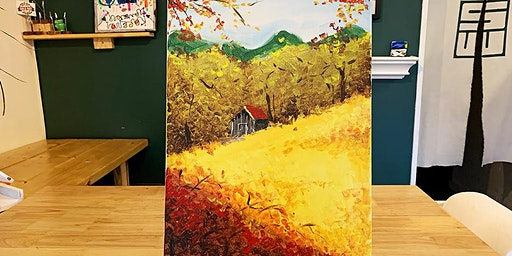 THINGS TO DO -PAINT & SIP EVENT: RED HOUSE