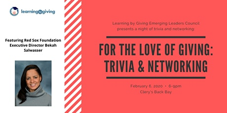 For the Love of Giving! Networking & Trivia tickets