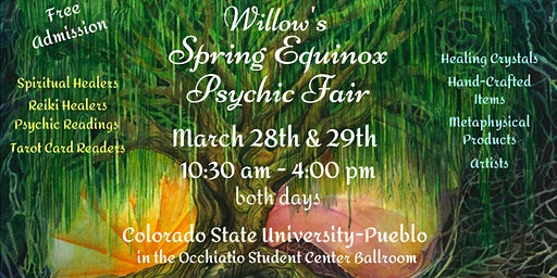 Willow's Spring Equinox Psychic Fair