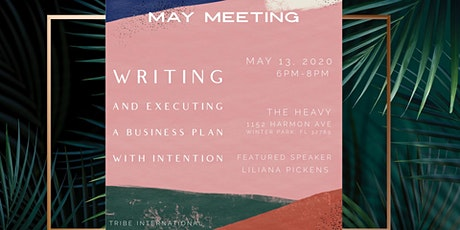 Monthly Meeting: Writing & Executing a Business Plan with Intention tickets