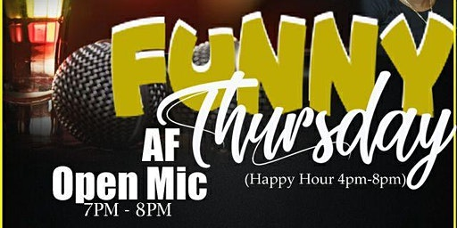 "SDOTPresents: Funny ""AF"" Thursday's Featuring Ryan Robinson And Friends"