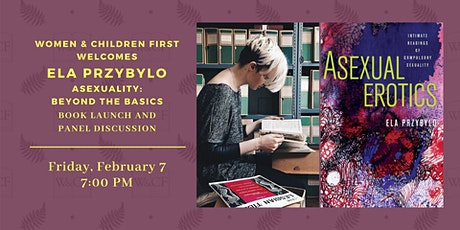 Book Launch & Panel Discussion: ASEXUAL EROTICS by Ela Przybylo tickets
