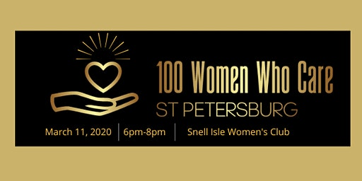 100 Women Who Care St Petersburg 1st Meeting of 2020