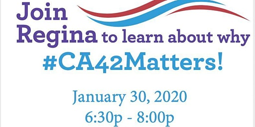 CA42Matters: Corona Town Hall Meeting