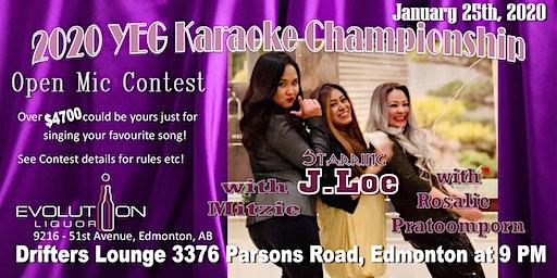 YEG Karaoke Night Hosted By J. Loe