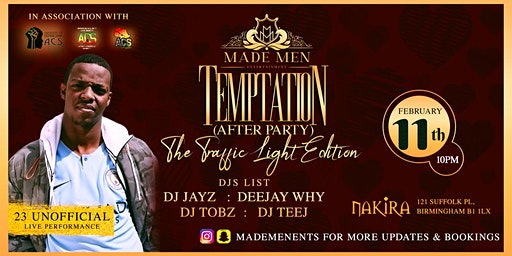 ACS Temptation Traffic Light Afterparty