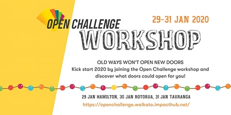 Open  Challenge Workshop Hamilton tickets