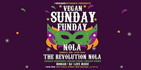 #VegansInTheMix Sunday Funday, NOLA Edition tickets