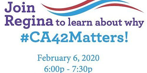#CA42Matters Town Hall Meeting