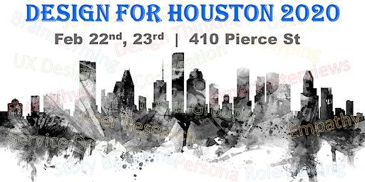 Design for Houston - 2020
