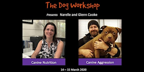 Canine Nutrition and Aggression Workshops tickets