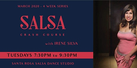 Salsa Crash Course with Irene - March 2020 4-Wk Series tickets
