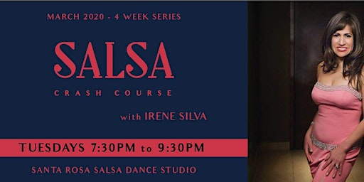 Salsa Crash Course with Irene - March 2020 4-Wk Series