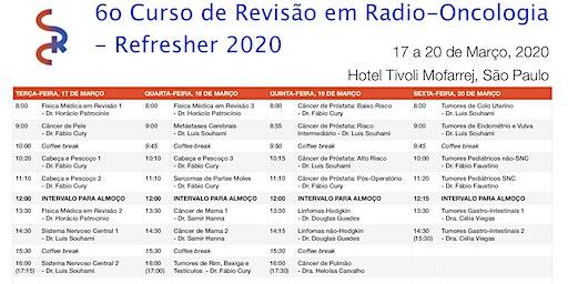 6⁰ Curso de Revisão em Radio-Oncologia - Refresher 2020